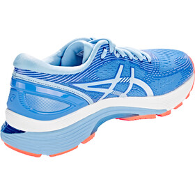 asics Gel-Nimbus 21 Sko Damer, blue coast/skylight
